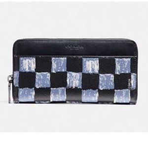 Coach F22542 Men's Accordion Wallet With Graphic